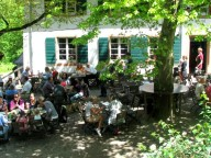 Partyraum: idyllisches Waldrestaurant