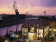 Partyraum: Maritime Eventlocation am Hafen