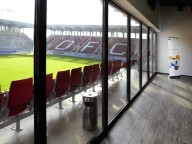 Partyraum: Business-Lounge im Stadion